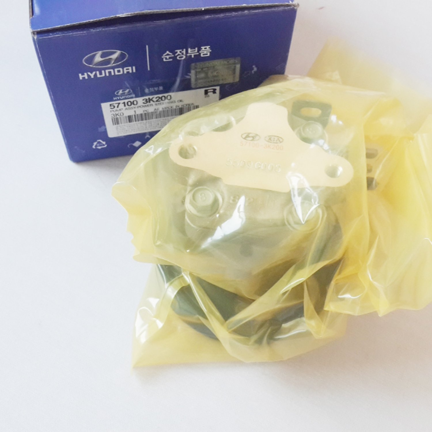 Genuine Parts Hyundai NF Sonata Power Steering Oil Pump Genuine 57100-3K200 DHL Free Service