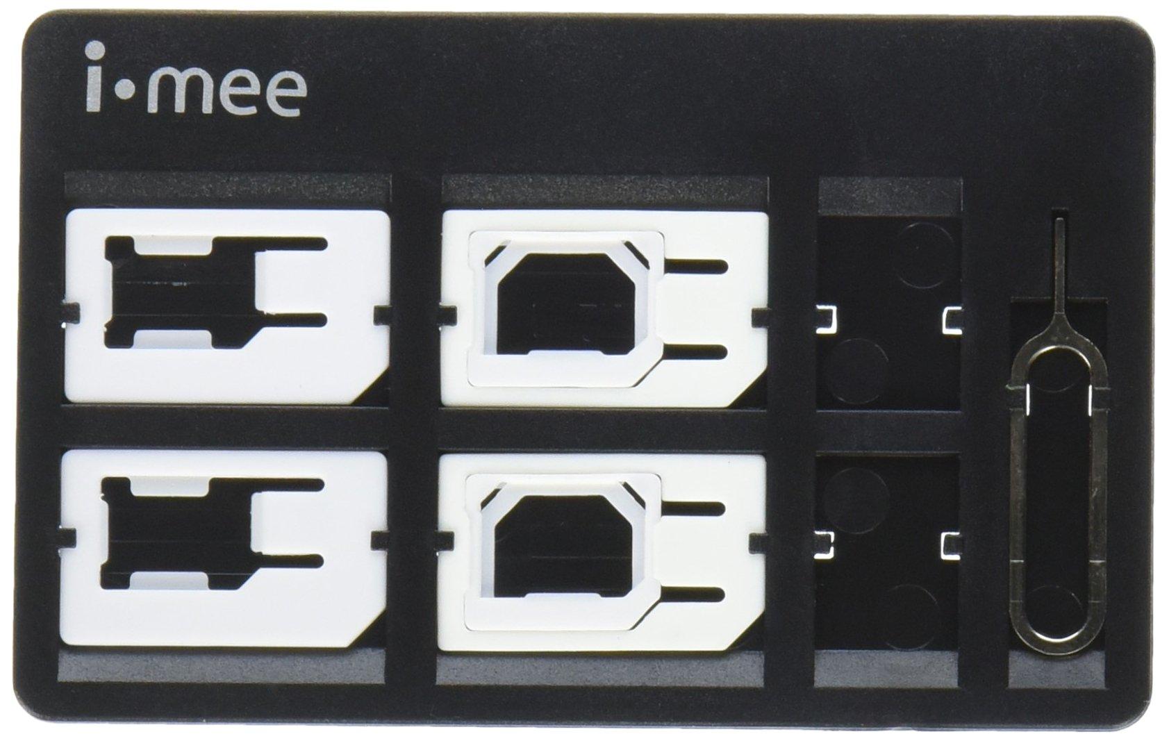 i-mee Super SIM Kit Package - Retail Packaging - Metal