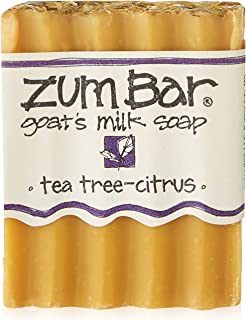 product image for Zum, Soap Bar Goat Milk Tea Tree Citrus, 3 Ounce