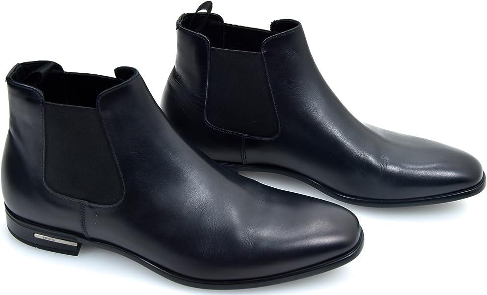 ed062d050 Prada Man Beatles Ankle Boot Black Leather Code 2TC035 6, 5 (EU 40, 5) Nero  - Black: Amazon.co.uk: Shoes & Bags
