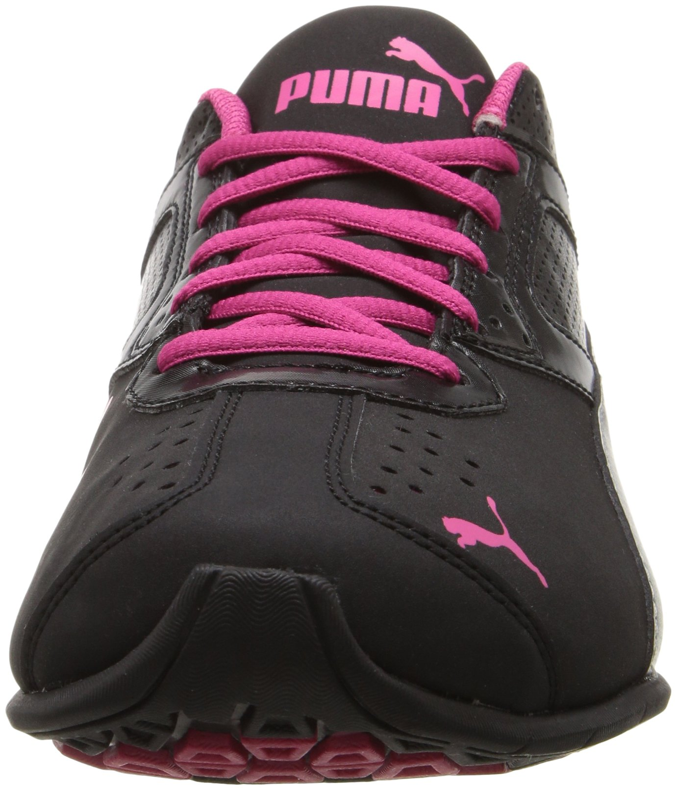 PUMA Women's Tazon 6 WN's fm Cross-Trainer Shoe Black Silver/Beetroot Purple, 7 M US by PUMA (Image #4)