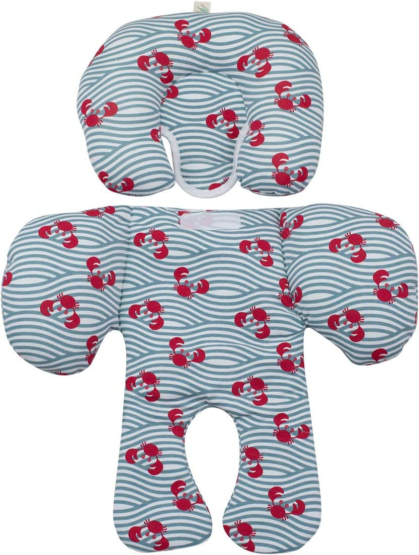 White Star JANABEBE Reducer cushion Infant Head /& Baby Body Support Antiallergic 2 PIECES