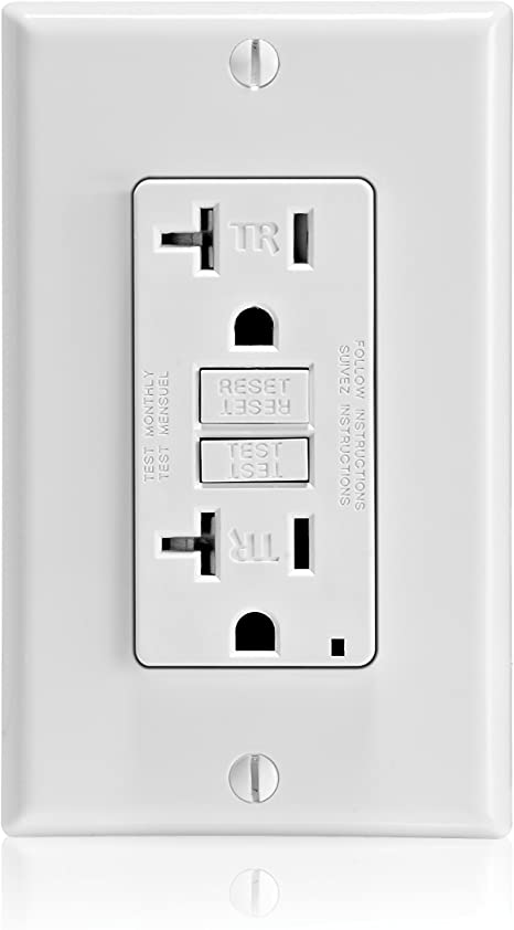 *LOT OF 10* Leviton GFTR2-W 20 Amp Smartlock Tamper-Resistant White GFCI NEW!