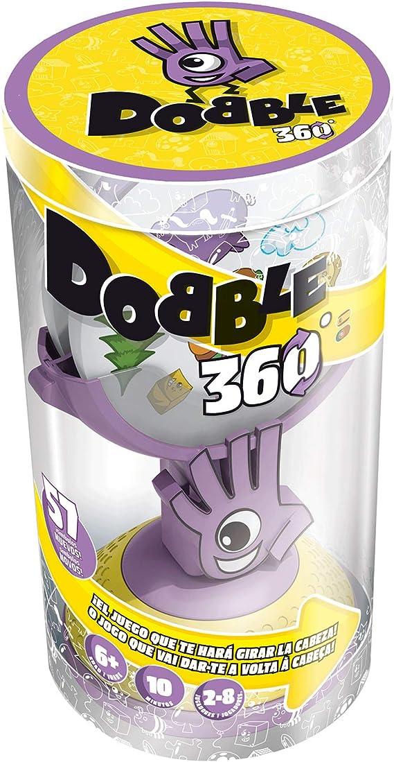 Zygomatic- Dobble 360 Español-Portugues, Color (DOBB360ML): Amazon ...