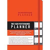 High Performance Planner Orange