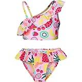 AmzBarley One Piece Girls Swimwear Swimsuit Swim Bathing Suit Kids Beach Wear