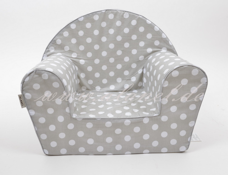 Kindersessel Sessel Babysessel Kindermöbel KinderzimmerGREY von ALANEL KSRGR1304
