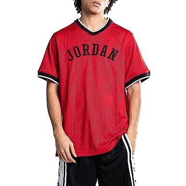 ebf2736ee79 Amazon.com: Jordan Men's Jumpman Air Mesh Jersey: Clothing