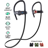 POP Design IPX7 Sports Bluetooth Earbud with Mic and Noise Cancelling