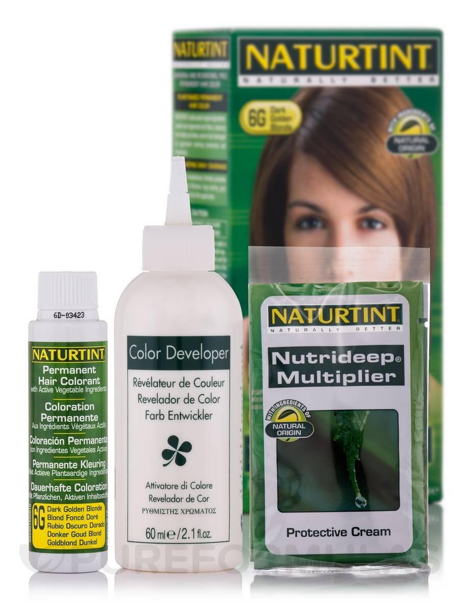 Amazon.com : Naturtint Permanent Hair Color 6G Dark Golden Blonde ...
