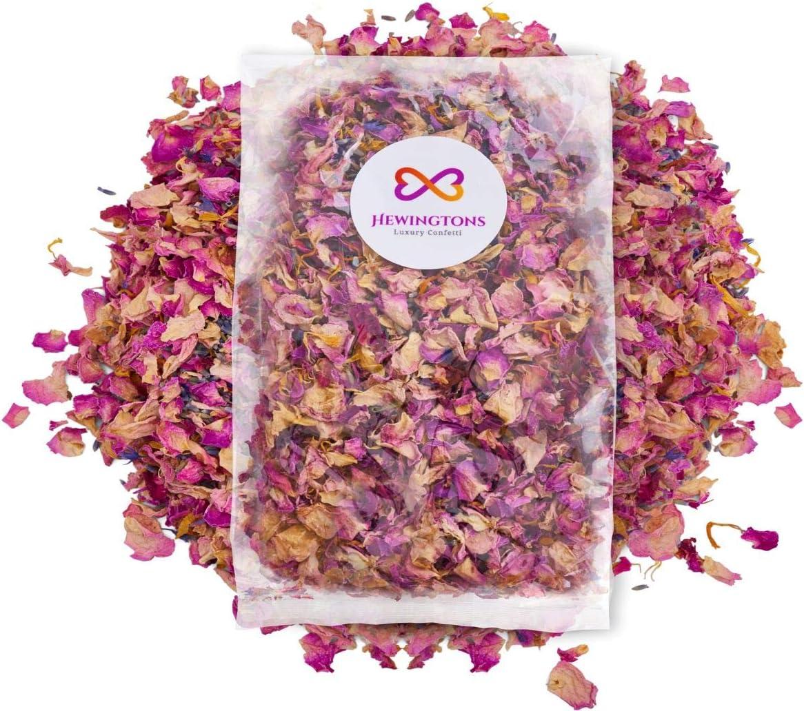 Confeti natural biodegradable para boda | mezcla de flores secas ...