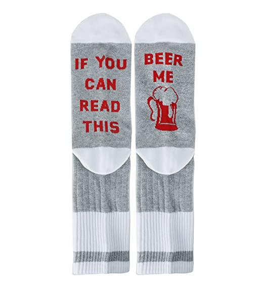 3bbc70216708 Amazon.com: If You Can Read This Novelty Funny Saying Beer Crew ...