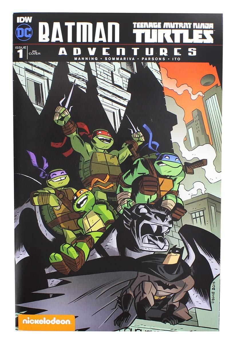 Batman & Teenage Mutant Ninja Turtles Adventures Comic Book ...