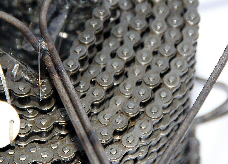 Diamond chain Company Sapphire roller chain #40 RIV 1//2 x 5//16 x 100 feet