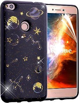 OKZone Funda Huawei P8 Lite 2017, [Serie Noche Estrellada] Cárcasa ...