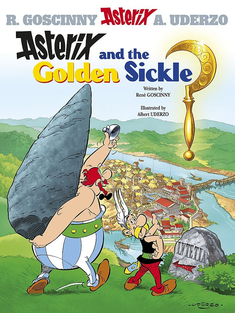 Asterix and the Golden Sickle: Album #2 (Bk. 2) ebook