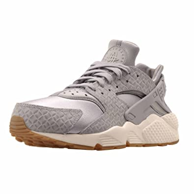 best service 6f44f 13fc7 Amazon.com   Nike Womens WMNS Huarache Run PRM Premium Running Shoes  Sneakers, Wolf Grey Size 11.5 US   Fashion Sneakers