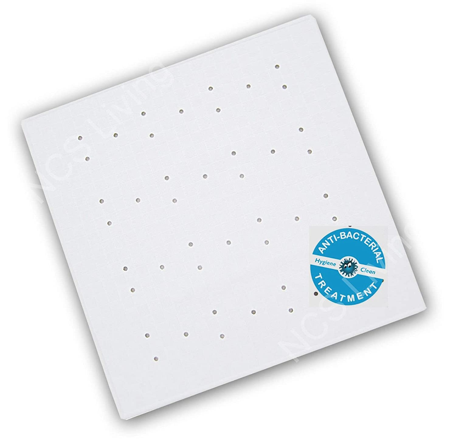 Anti Bacterial Strong Non Slip Shower Rubber Mat Anti Mould With Suction Cups 54 x 54cm NCS