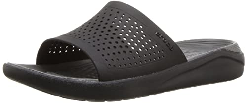 9bf06056f58c12 crocs Unisex Literide Slide House Slippers  Buy Online at Low Prices in  India - Amazon.in