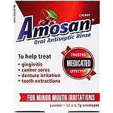 Amosan Oral Antiseptic Rinse - Cherry