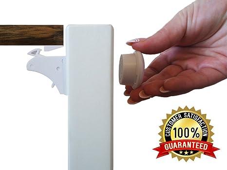 cierre de seguridad Locks Kit de Bebé Pasos usa-baby Proofing Pack de 4 Cerraduras de