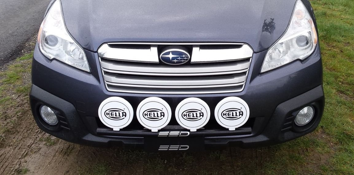 Amazon fits 2014 subaru outback all models rally light bar amazon fits 2014 subaru outback all models rally light bar bull bar nudge bar 4 light tabs powder coated from ssd performance automotive aloadofball Gallery