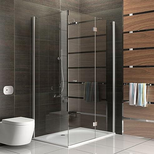 duschkabine echtglas eck dusche rahmenlose duschkabine duschkabine ca 120 x 80 x - Dusche 80 X 120 Cm