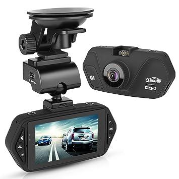 oasser Dash Cam salpicadero de coche cámara 1080 P FHD 170 ° gran angular con G