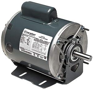 Motor, 1/2 HP, 1725 RPM, 115/208-230V, Auto