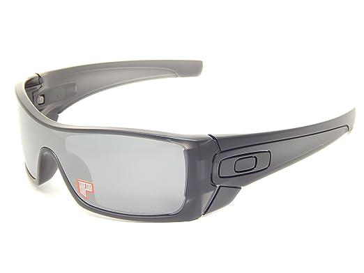 934d236621 New Oakley Batwolf 9101-35 Matte Black Ink Black Iridium Polarized  Sunglasses