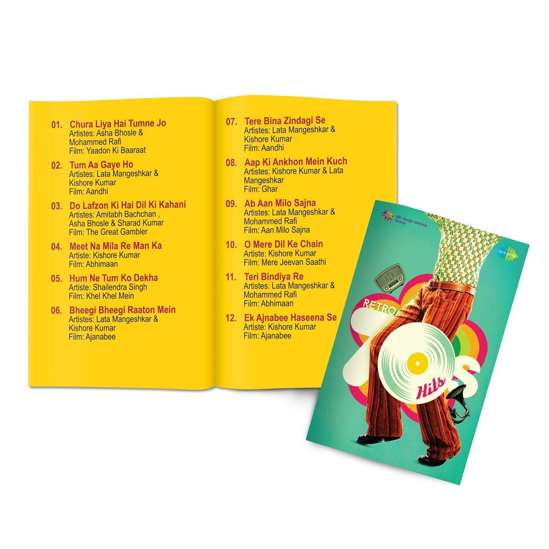 Music Card: Retro 70's Hits - 320 Kbps MP3 Audio (4 GB)