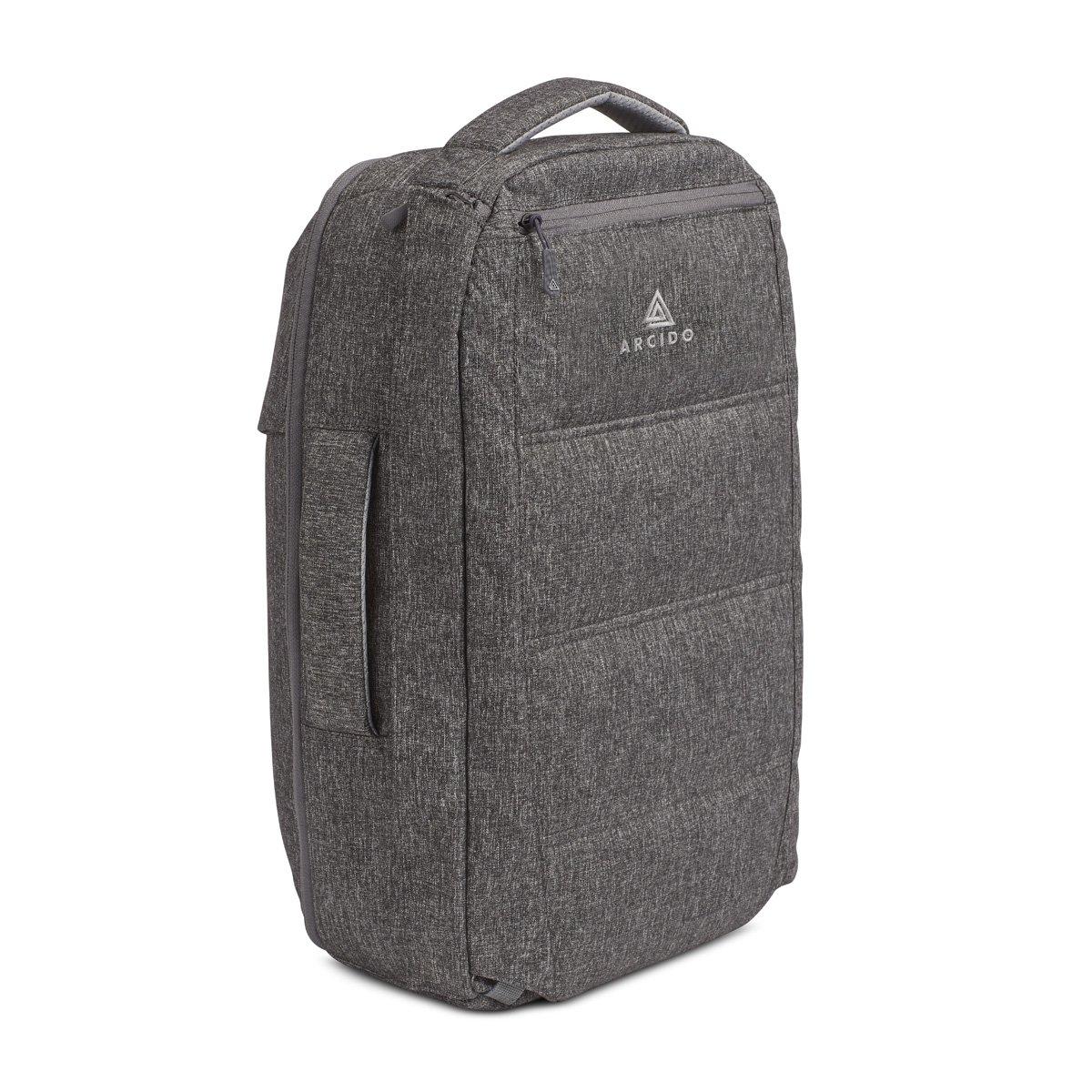 Arcido Saxon Backpack: 45 x 33 x 20 cm Equipaje de mano / mochila de viaje con compartimento para Laptop de hasta 15
