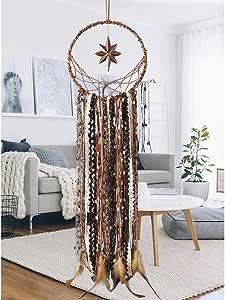 Atrapasueños hecho a mano borla de Puerta Colgante De Pared Decoración para fiestas Artesanal Cuerda de Algodón