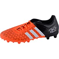 $299 » Dele Alli Tottenham Hotspur Autographed Orange & Black Adidas Cleat - ICONS - Fanatics Authentic Certified