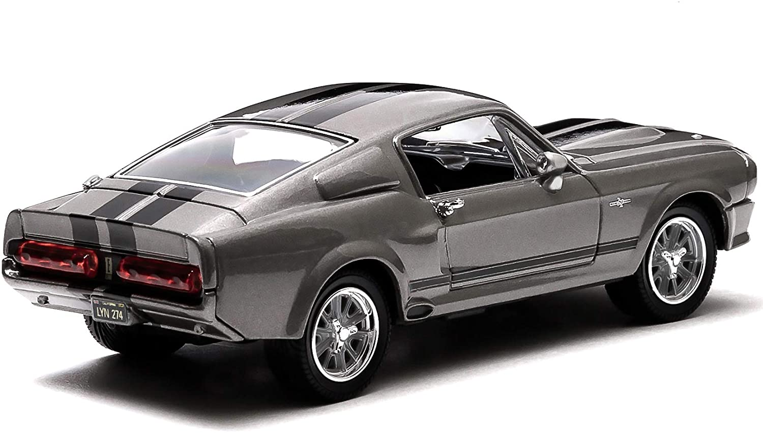 FORD MUSTANG Shelby GT500 Eleanor 1967 60 Secondes Chrono GREENLIGHT 1//18