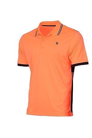 K-Swiss 101288646 Polo de Tenis, Hombre: Amazon.es: Deportes y aire libre