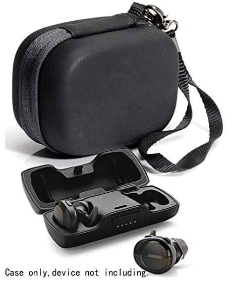 108fd1838d568b Featured Protective Case for Bose SoundSport Free Truly Wireless Sport  Headphones Charger Box, Mesh pocket
