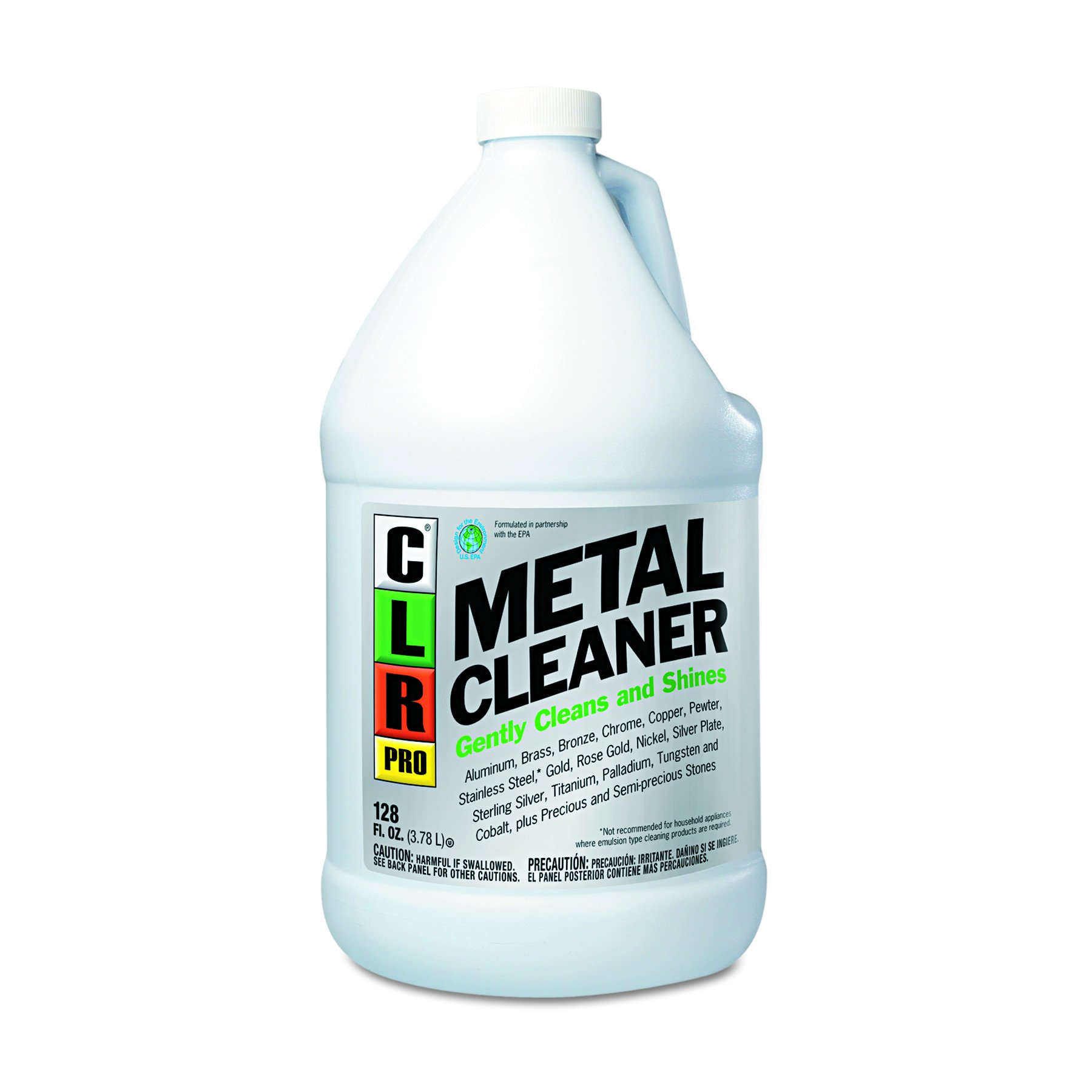 CLR PRO CLRMC4PROEA Metal Cleaner, 128oz Bottle