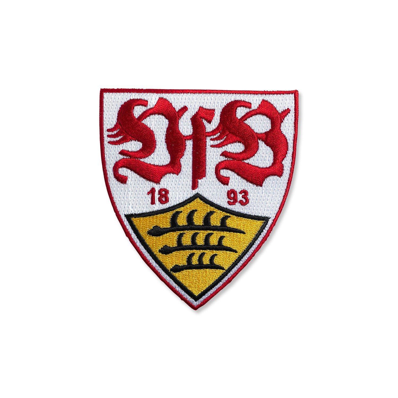 VfB Stuttgart Aufn/äher Wappen ca 8 x 9 cm zum aufb/ügeln!