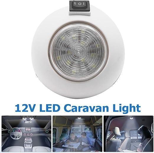 MASO Utra Slim DC12V - Foco LED para interior de coche, furgoneta ...