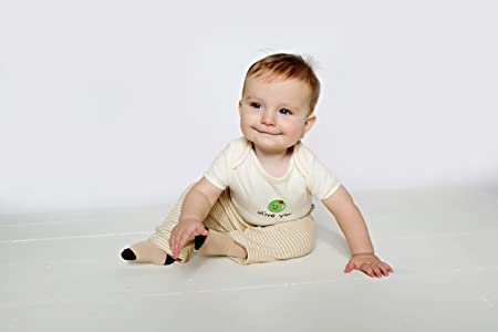 Image: Hudson Baby Natural Organic Bodysuit | 100% Organic cotton | soft to the touch on your baby's skin