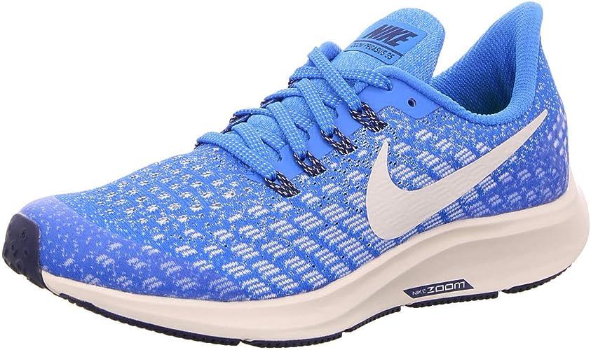 Regresa Condición personalidad  Nike Air Zoom Pegasus 35 (gs) Big Kids Ah3482-401, Cobalt Blaze/Light  Bone-sail-blue Void, 12 MX M Niño Grande: Amazon.com.mx: Ropa, Zapatos y  Accesorios