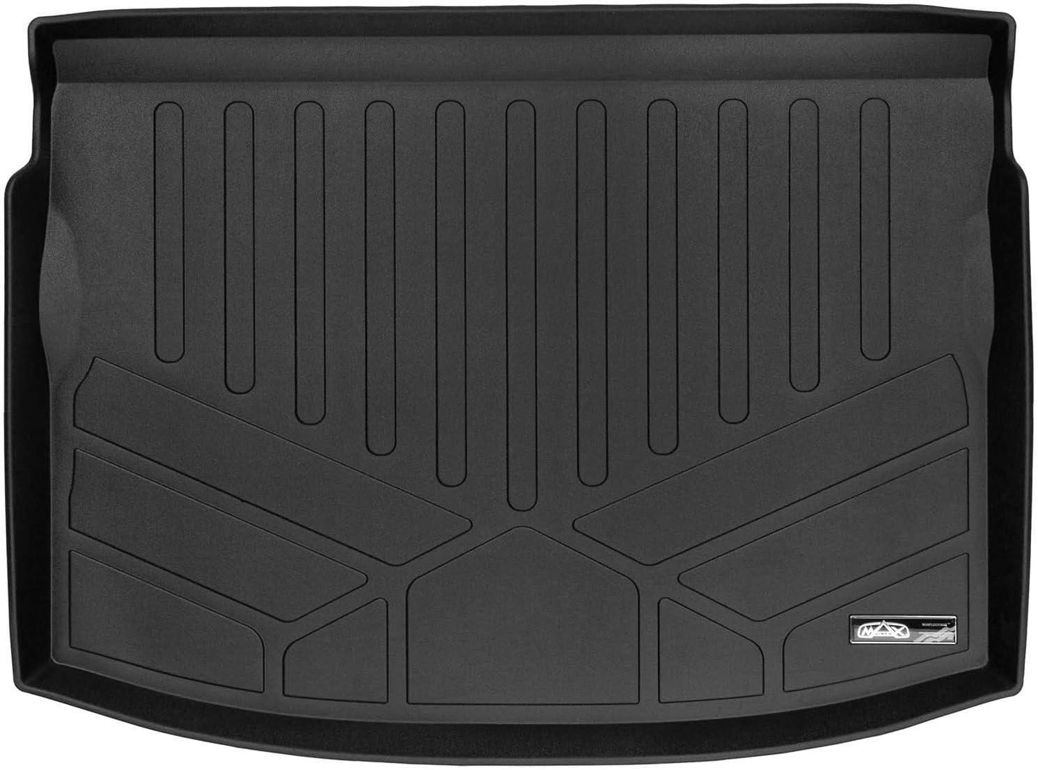 No Sedan and Crosstrek All Models SMARTLINER All Weather Cargo Liner Floor Mat Black for 2018 Subaru Impreza Hatchback
