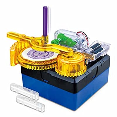 Amazing Drawer - Build Your Own Spiral Drawing Machine!: Toys & Games
