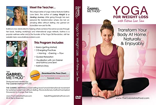 Amazon Com Yoga For Weight Loss Dvd Movies Tv