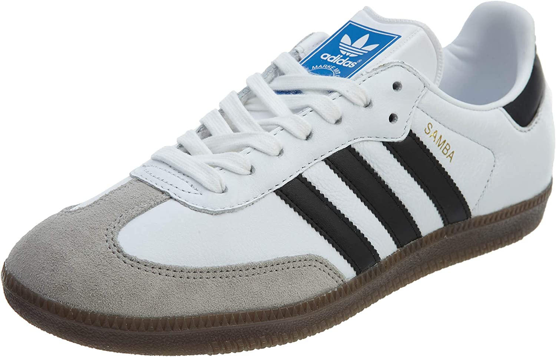 adidas Mens Samba Og Sneakers Shoes Casual - White