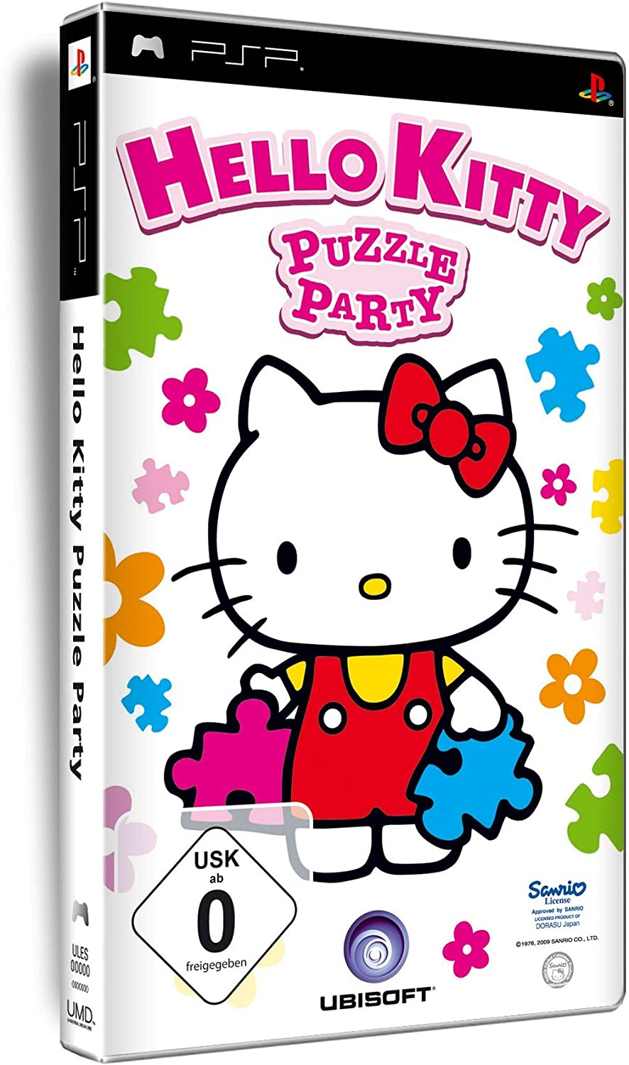 Ubisoft Hello Kitty Puzzle Party (PSP) - Juego (DEU)