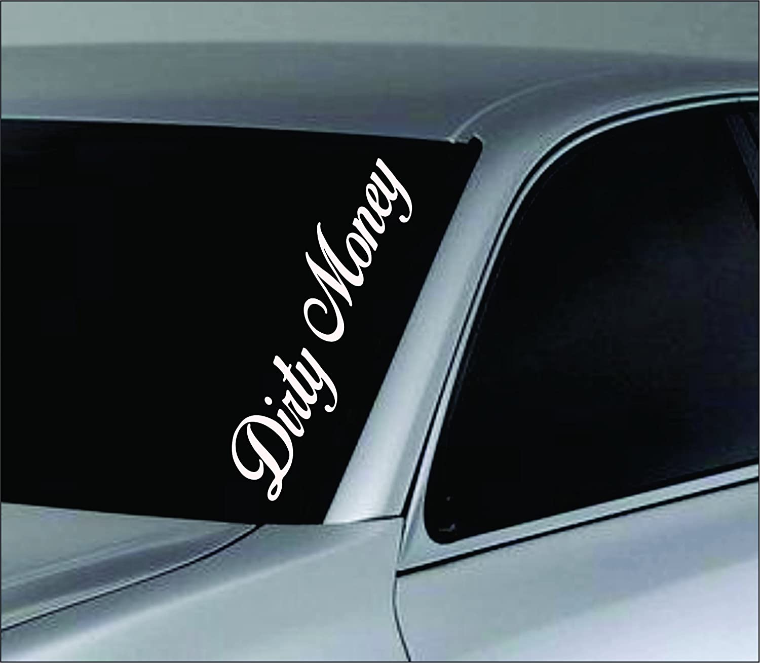 Amazoncom Dabbledown Decals Large Dirty Money Car Truck Window - Window decals amazon