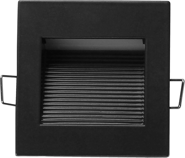 NICOR Lighting STQ-10-120-OB LED Square Step Light Oil-Rubbed Bronze