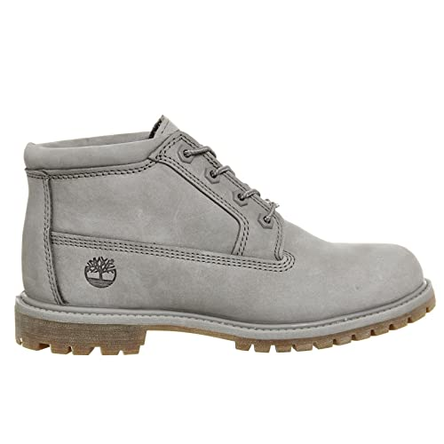 beb74d0c8c35e Timberland Mujer Gris Nellie Double Waterproof Chukka Botas  Amazon.es   Zapatos y complementos